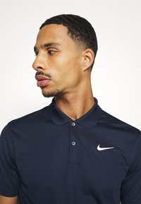 Nike Golf - DRY VICTORY SOLID SLIM - Sports shirt - obsidian/white - 3