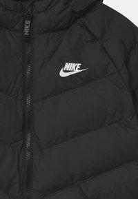 Nike Sportswear - LONG UNISEX - Winter coat - black/white - 2