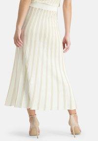 Nicowa - A-line skirt - wei㟠- 2
