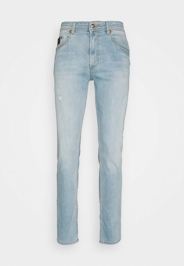 Jeans slim fit - light-blue denim