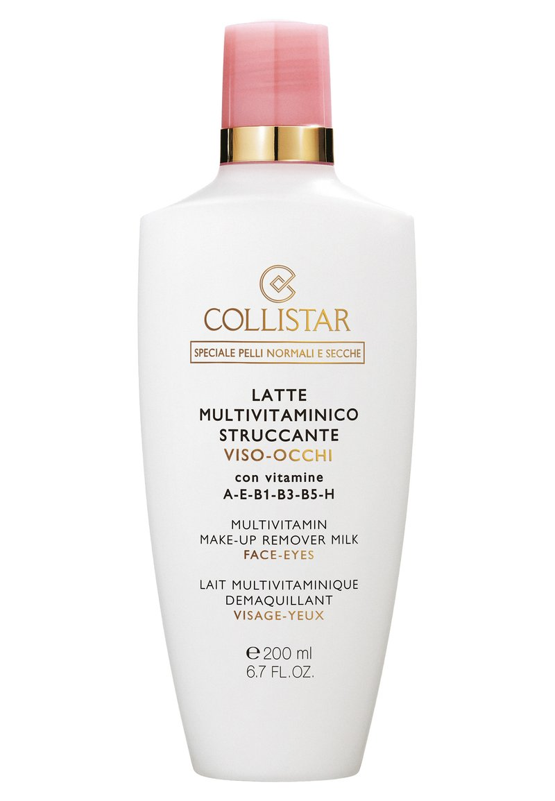 Collistar - MULTIVITAMIN MAKE-UP REMOVER MILK FACE-EYES - Makeup remover - -