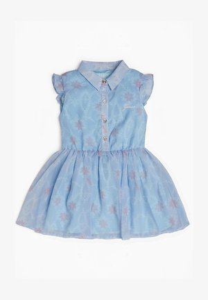 Freizeitkleid - mehrfarbig, grundton blau