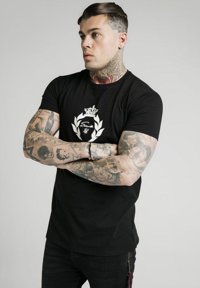 PRESTIGE GLOW GYM TEE - T-shirt imprimé - black