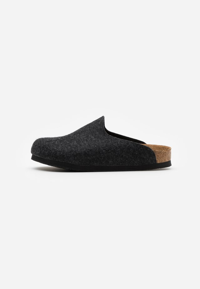 AMSTERDAM VEGAN UNISEX - Slippers - anthracite