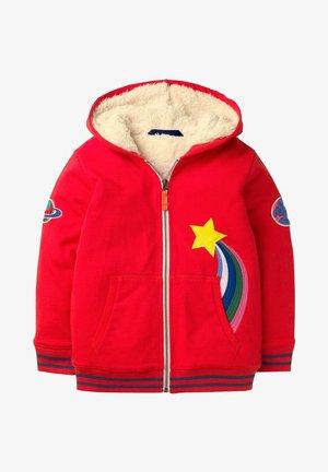 APPLIKATION - Zip-up hoodie - red