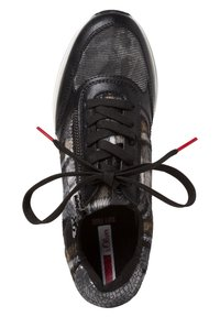 s.Oliver - SNEAKER - Trainers - black comb - 1