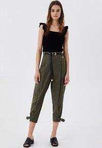 LIU JO - Trousers - green - 1