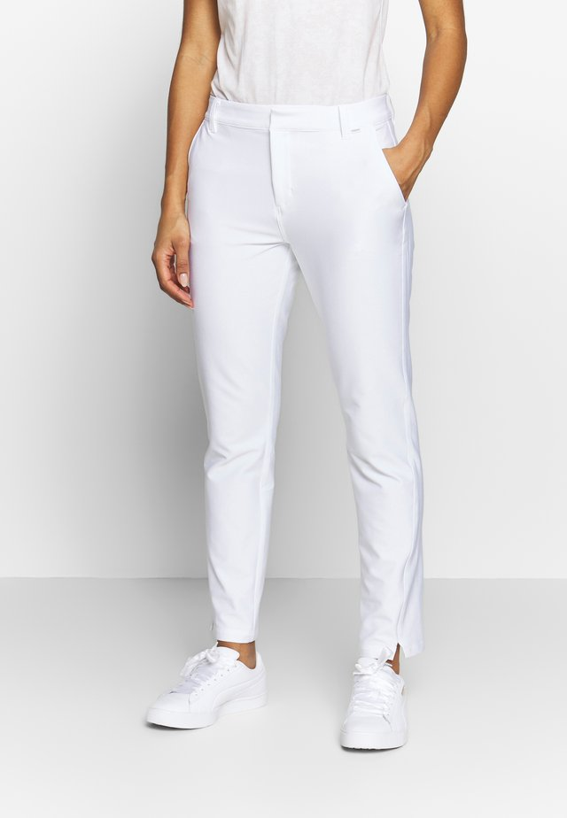 GOLF PANT - Kangashousut - bright white