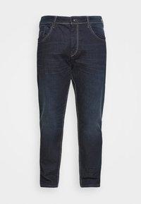 TOM TAILOR MEN PLUS - Straight leg jeans - dark stone wash denim - 3