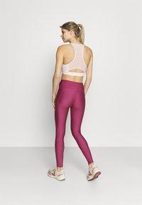 Under Armour - SHINE LEG - Tights - pink quartz - 2