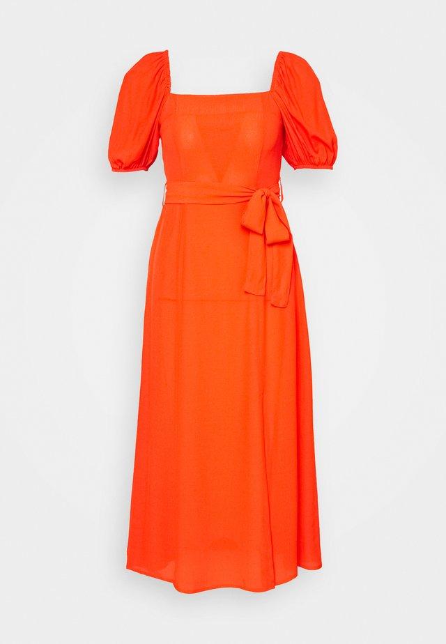 PLAIN TIE BELT - Vapaa-ajan mekko - orange