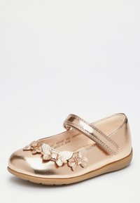 Next - WHITE BUTTERFLY MARY JANE SHOES (YOUNGER) - Baleríny s páskem - gold - 2