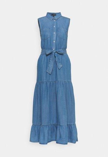 DRESS  - Denim dress - mid blue denim