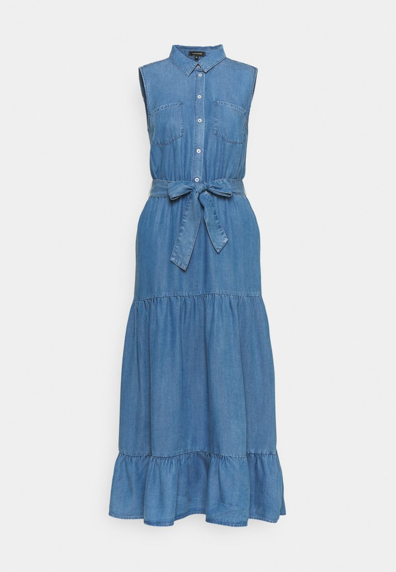 More & More - DRESS  - Denim dress - mid blue denim