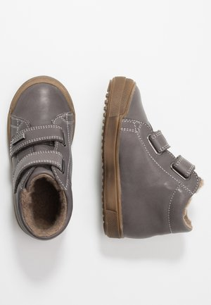 Touch-strap shoes - dunkel grau