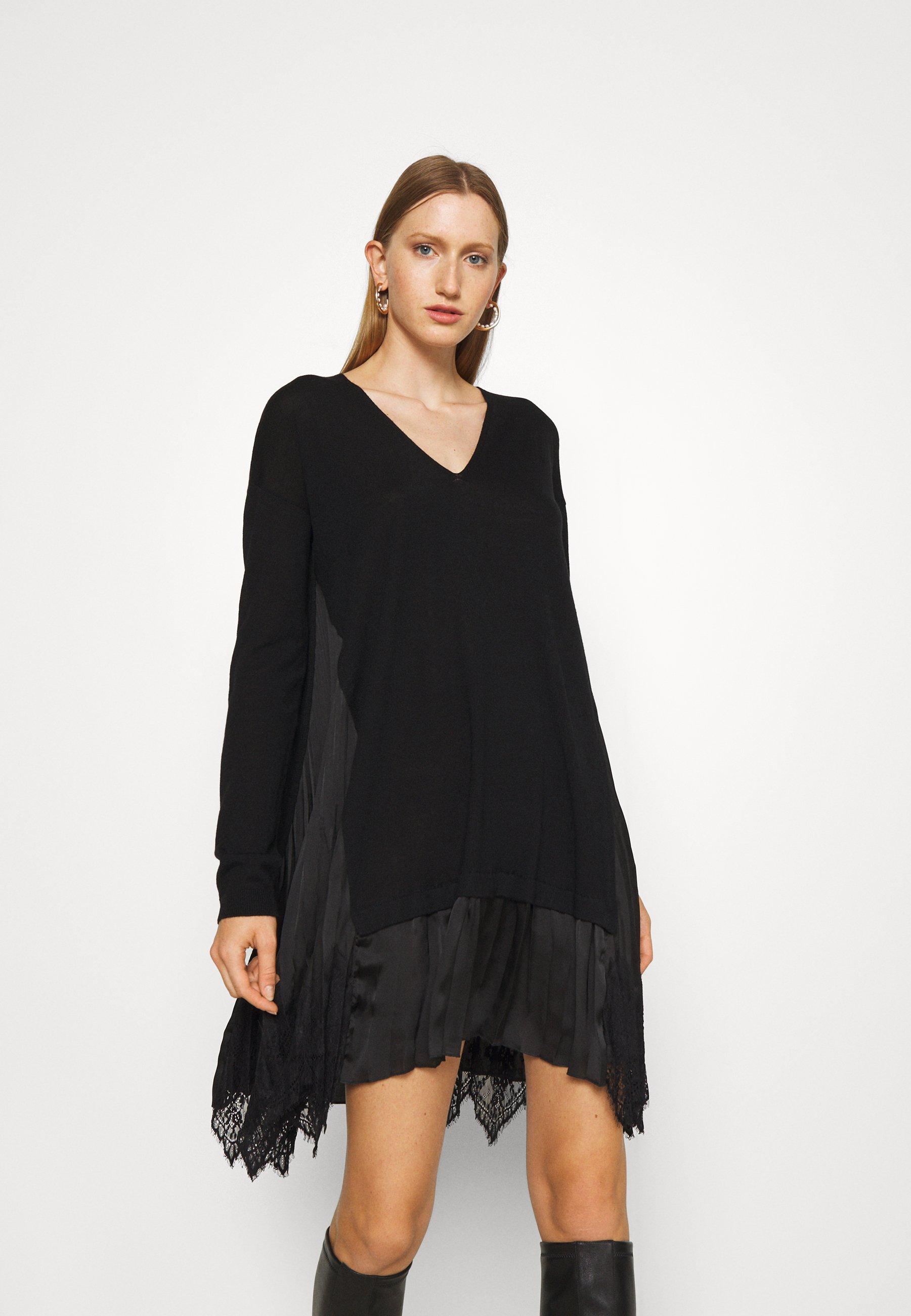 Women ABITO RASO PLISSE - Jumper dress