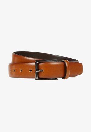 Belt business - haselnuss braun