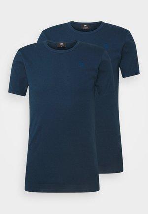 BASE 2 PACK - Basic T-shirt - luna blue