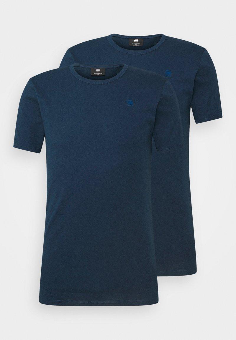G-Star - BASE 2 PACK - T-paita - luna blue