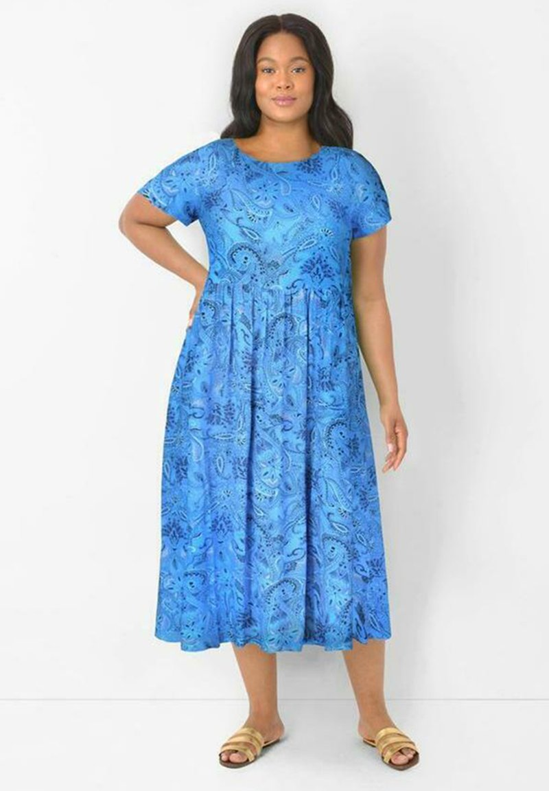 Live Unlimited London - Day dress - blue