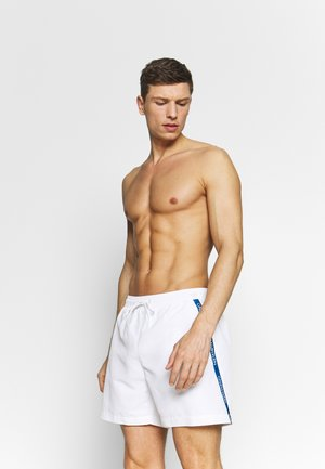 MEDIUM DRAWSTRING - Swimming shorts - white