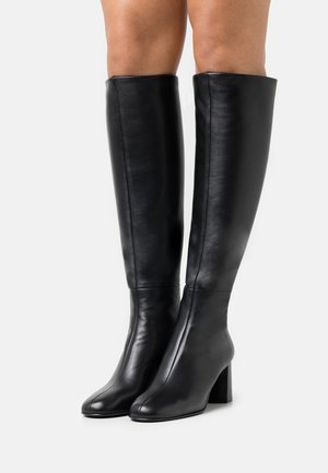 NADIA SOFT TALL HEEL BOOT - Boots - black