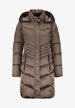 MIT KAPUZE - Winter coat - dunkel taupe