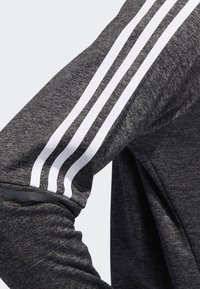 adidas Performance - OWN THE RUN 3-STRIPES CREW SWEATSHIRT - Fleece jumper - grey - 4
