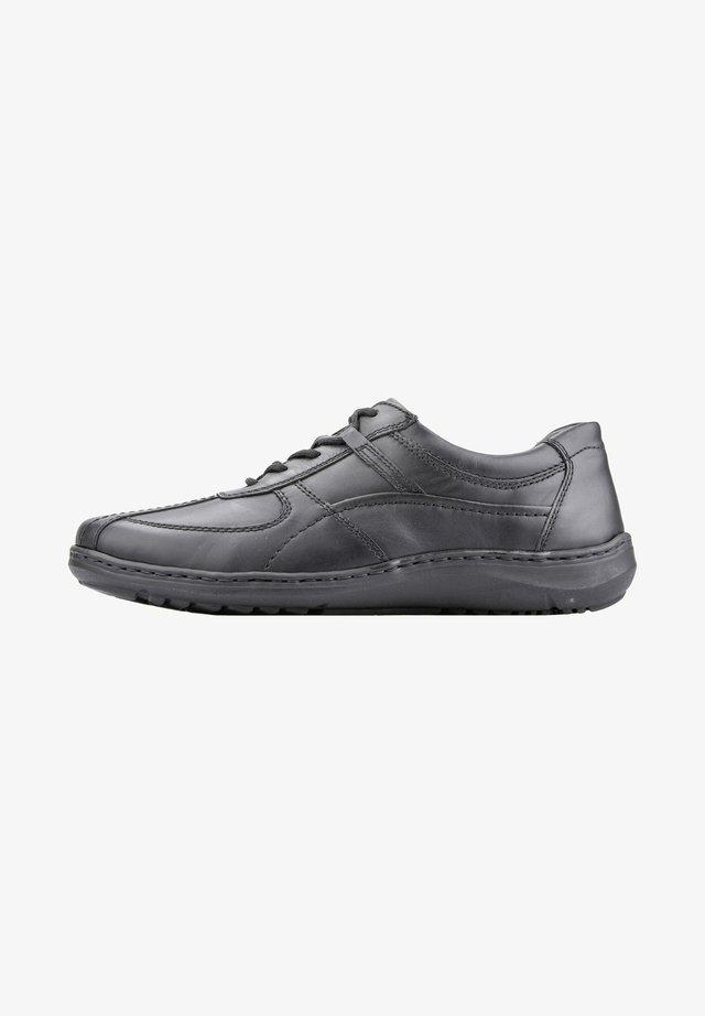 Chaussures à lacets - schwarz