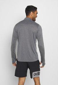 adidas Performance - AEROREADY SPORTS RUNNING LONG SLEEVE - Sports shirt - black/white - 2