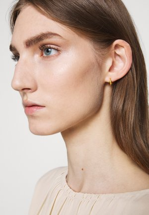 SPARROW MINI HOOPS - Earrings - gold-coloured