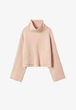 PUNTO  - Jumper - rosa pastel
