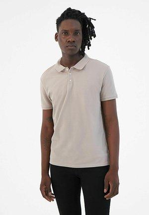 SHORT SLEEVES - Polo shirt - vison