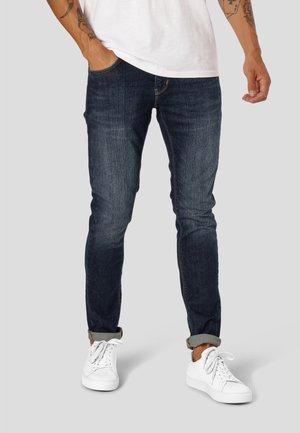 Skinny džíny - 2001 dark blue denim