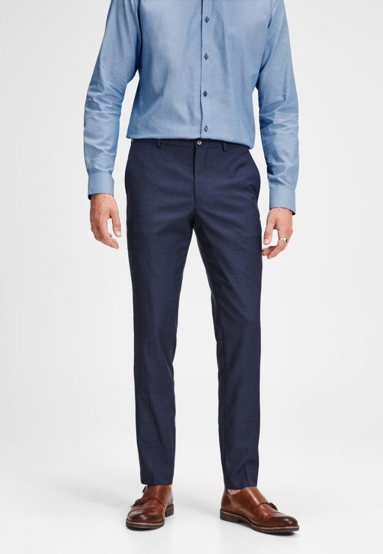 Jack & Jones PREMIUM - JPRSOLARIS  - Suit trousers - dark navy