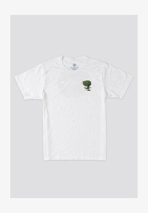 T-shirt print - optic white