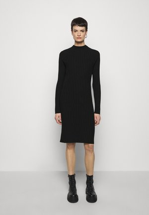 SELENA DRESS - Shift dress - black