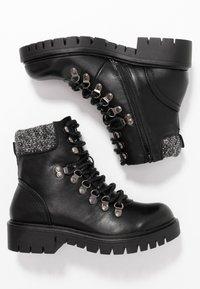Anna Field - Šněrovací kotníkové boty - black - 3