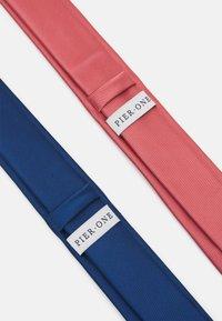 Pier One - 2 PACK - Tie - blue/pink - 1