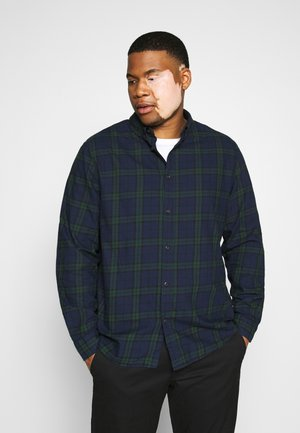 Shirt - dark blue/green