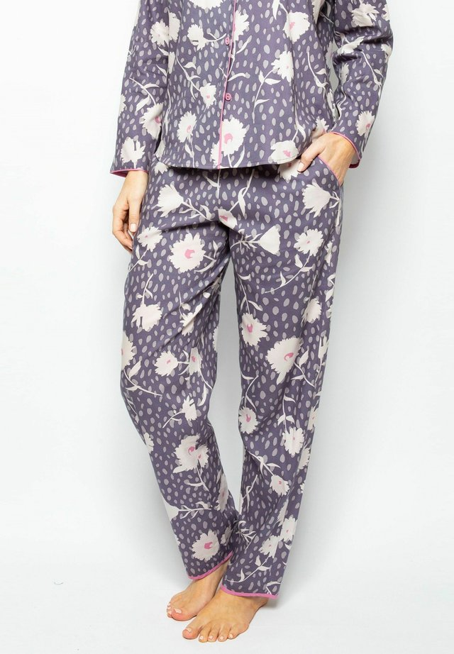 Pyjamahousut/-shortsit - grey floral