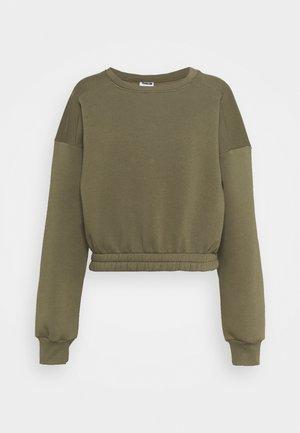 NMPERCY - Sweatshirt - kalamata