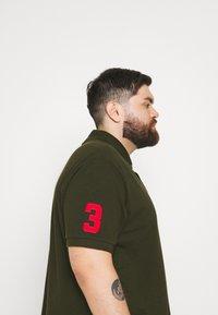 Polo Ralph Lauren Big & Tall - SHORT SLEEVE - Polo shirt - dark loden - 3