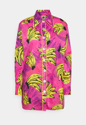 TIE DYE BANANAS PAJAMA - Button-down blouse - multi