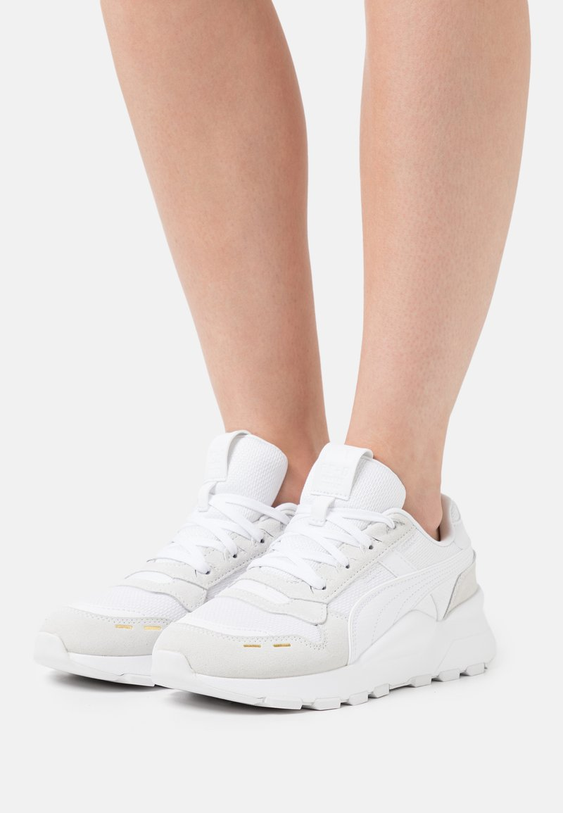 Puma - RS 2.0 FEMME  - Sneakers basse - white/team gold