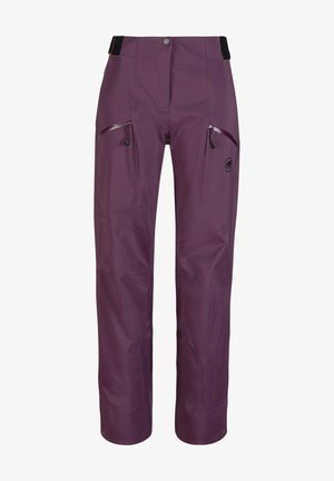 Outdoor trousers - blackberry