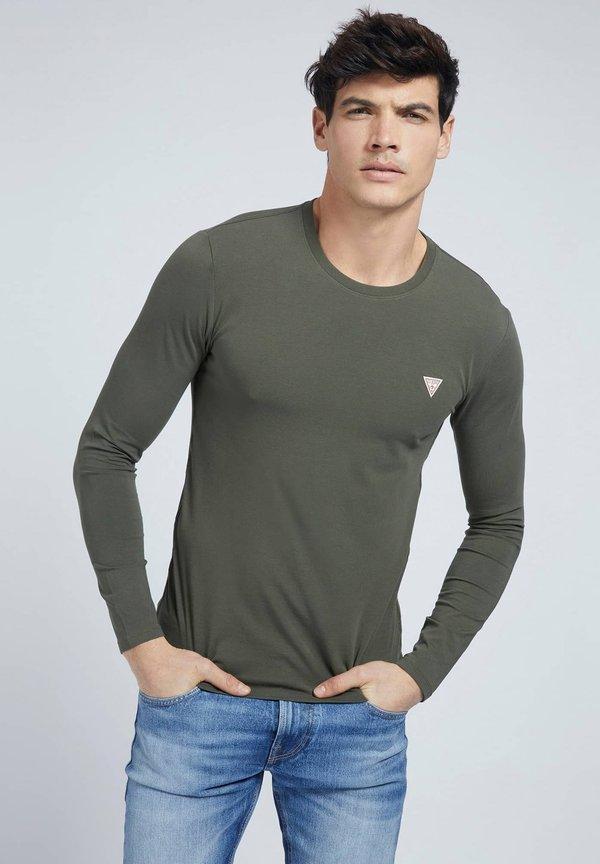 Guess CORE TEE - Bluzka z długim rękawem - grün/zielony Odzież Męska YFAI