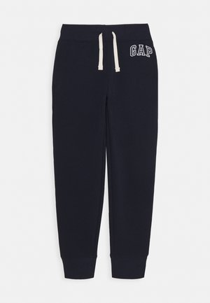BOY HERITAGE LOGO  - Tracksuit bottoms - blue galaxy
