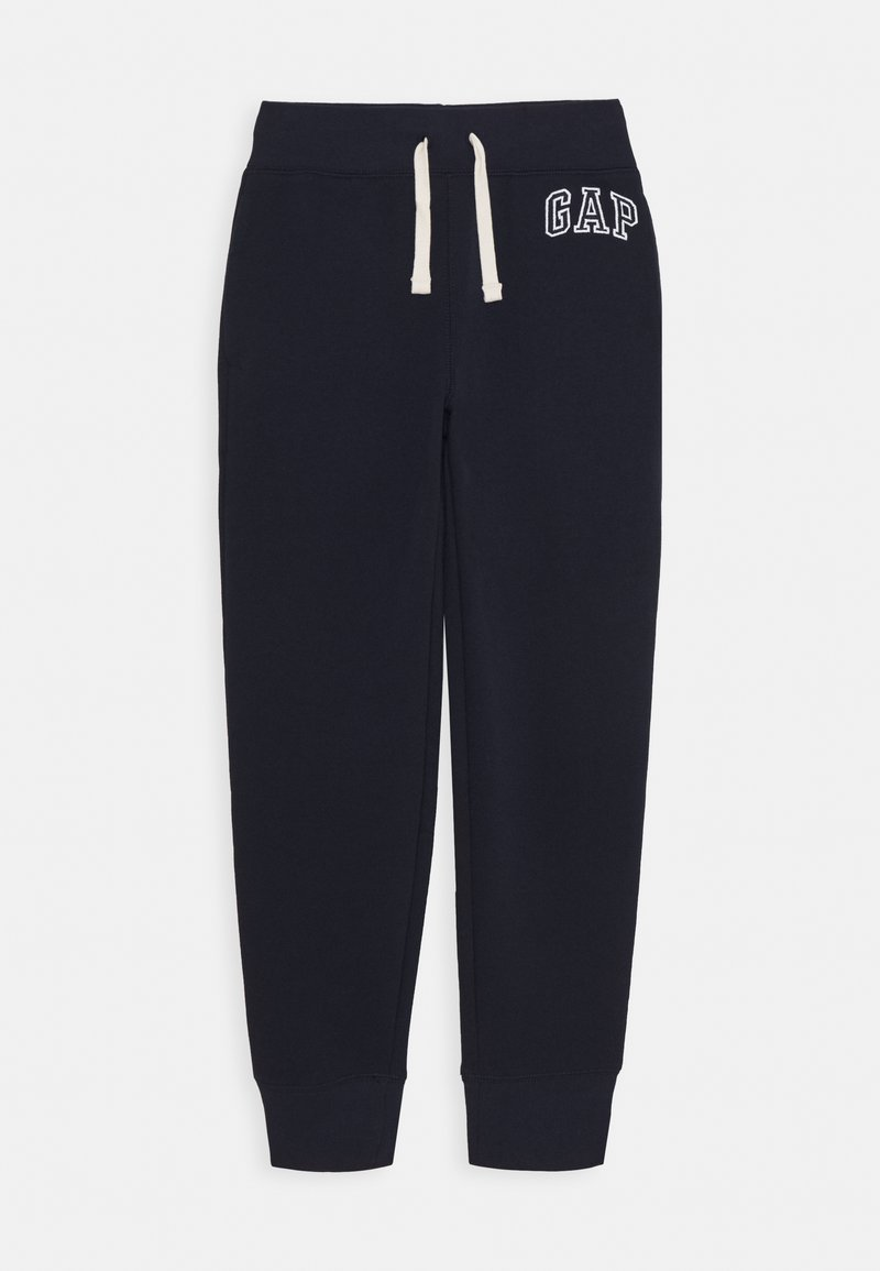 GAP - BOY HERITAGE LOGO  - Tracksuit bottoms - blue galaxy