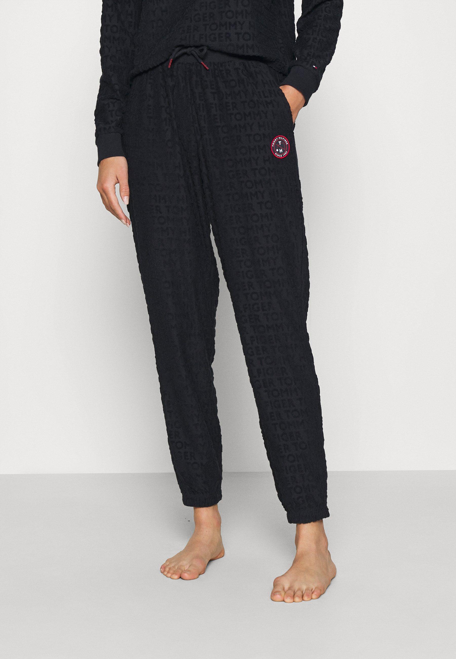 Damen RETRO TOWELLING PANT - Nachtwäsche Hose
